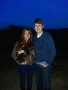 Our little family on Thanksgiving =)