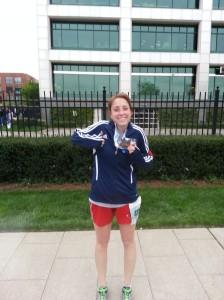 Got my medal!
