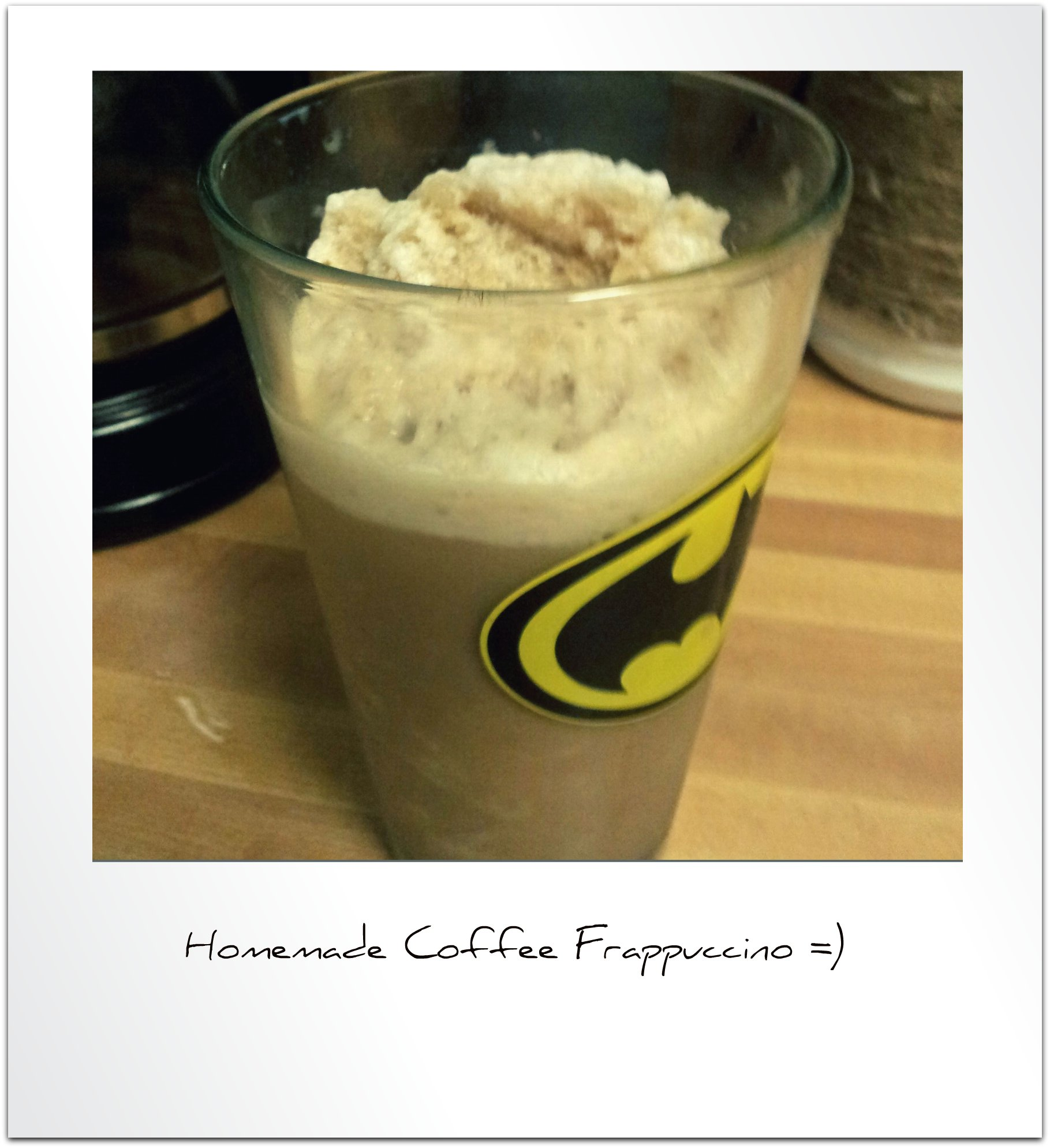 Happy Hour Friday- Homemade Coffee Frappuccino | We Moved
