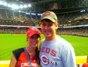 At Chase Field =)