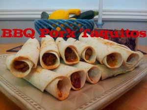 BBQ Pulled Pork Taquitos