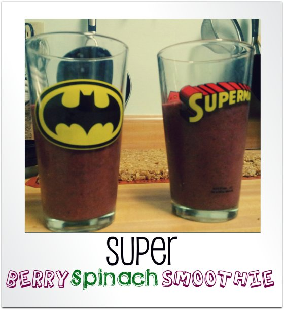 Super Berry Spinach Smoothies