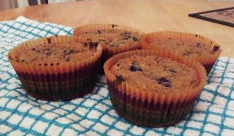 Zucchini Berry Muffins