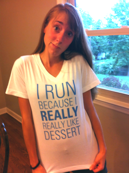 Will surprised me with this t-shirt the other day!   How perfect is that!  If you know me, or read this blog.... you know that's probably the truest statement that some one could make about me! photo credit: Amanda Blessing