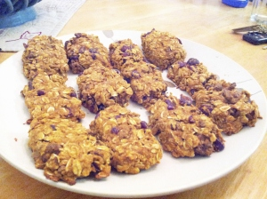 Pumpkin Oat Cookies 2
