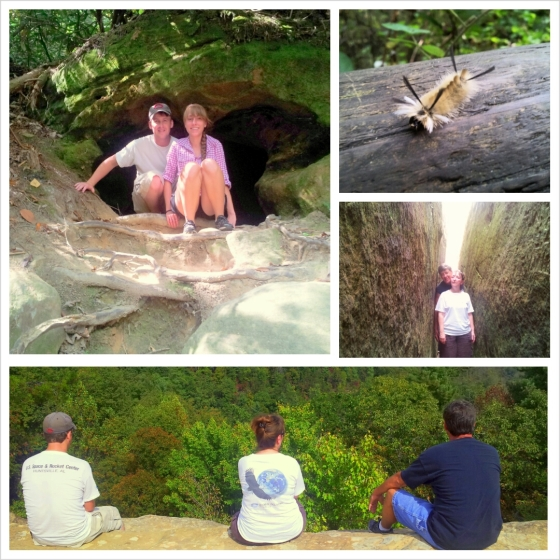 Our adventures at Natural Bridge