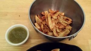 homemade fritos