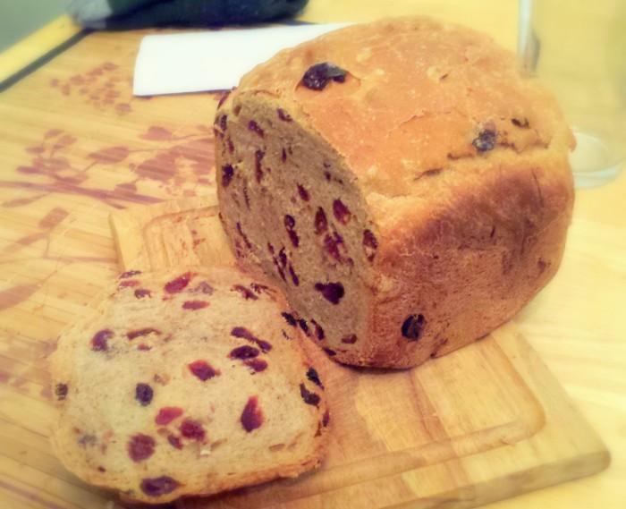 Honey-Nut Cinnamon Craisin Bread
