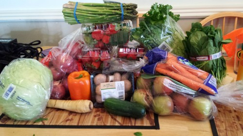 the produce binge....