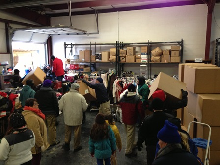 more of the Catholic Action Center working to help the community.