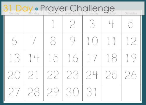 31-Day-Prayer-Challenge